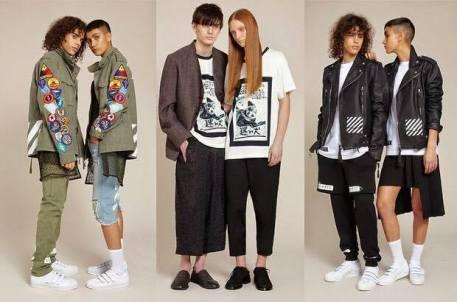 A marca inglesa de roupas Selfridges já aboliu as sessões de masculino e feminino - Foto: Divulgação