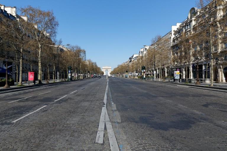 Paris em isolamento